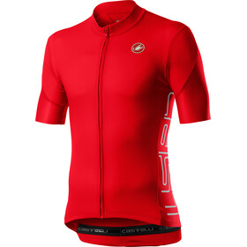 Castelli Entrata V SS Jersey Men, fiery red